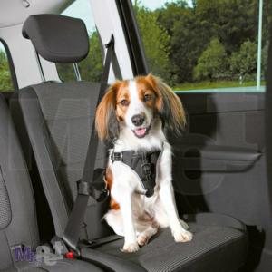 TRIXIE Dog Comfort sigurnosni am i povodac za automobil, S-M 40-55cm/20mm
