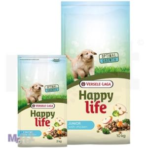 HAPPY LIFE hrana za pse Junior Chicken