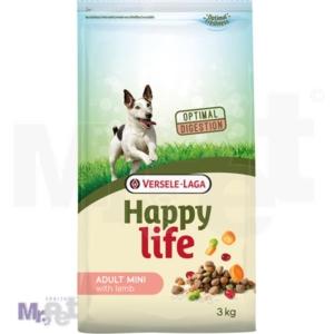 HAPPY LIFE hrana za pse Adult Mini Lamb
