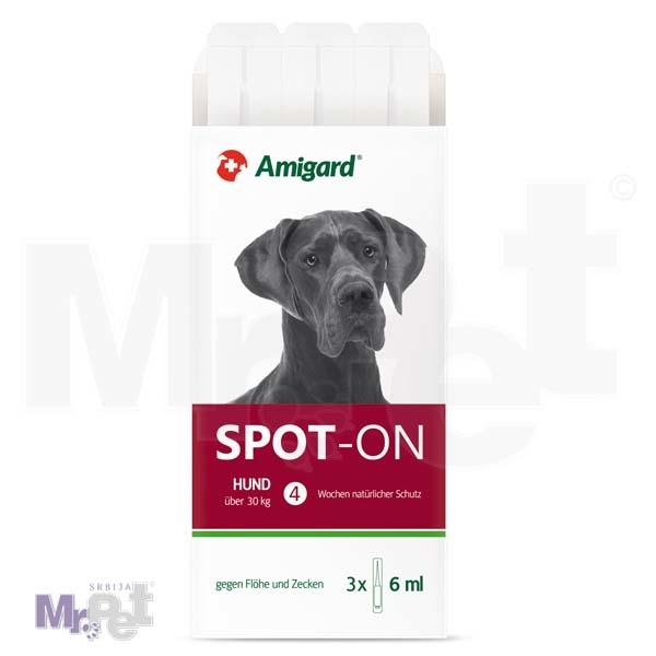 AMIGARD sredstvo protiv buva i krpelja Spot-on 3 ampule za pse iznad 30 kg