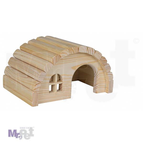 TRIXIE kućica za glodare Wooden House