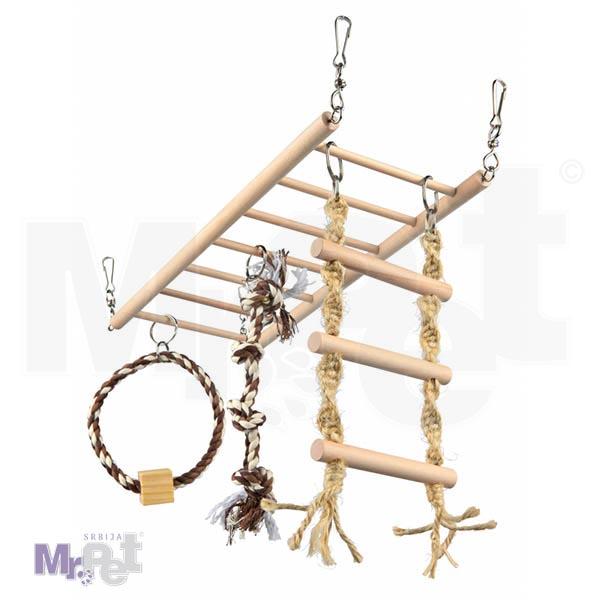 TRIXIE viseći most/merdevine za male životinje