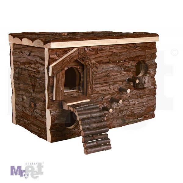 TRIXIE Svea Labyrinth DRVENA kućica za glodare