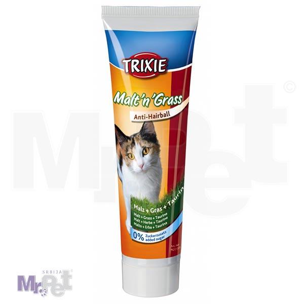 TRIXIE pasta za mačke Malt'n'Grass Anti-Hairball