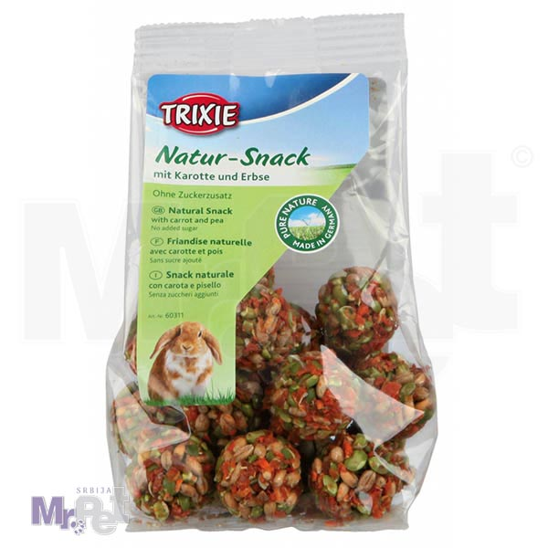 TRIXIE poslastica za glodare Balls 140 g