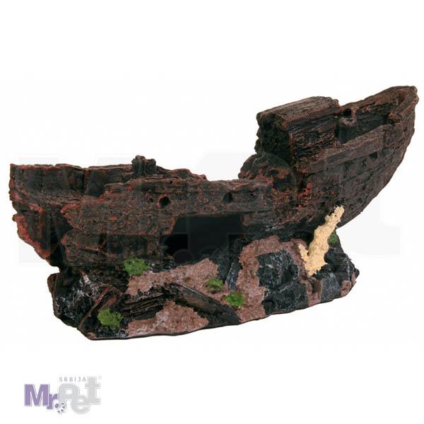 TRIXIE ukras za akvarijum olupina broda 24 cm