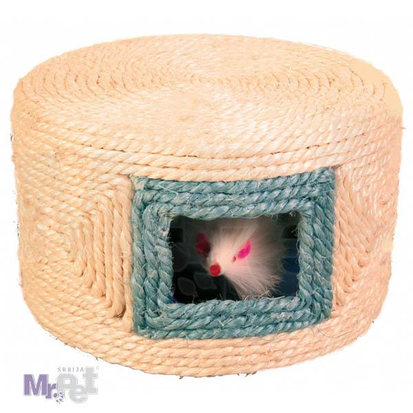 TRIXIE igračka za mačke Play Drum, Sisal