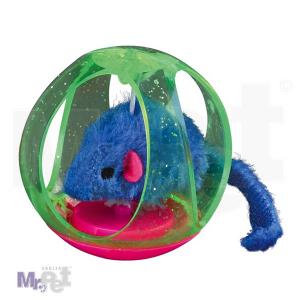 TRIXIE igračka za mačke Bobo loptice - miš u loptici