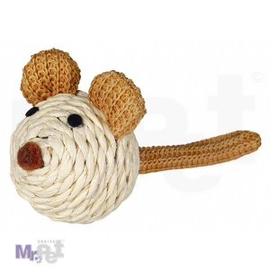 TRIXIE igračka za mačke miš Mouse, papirna pređa