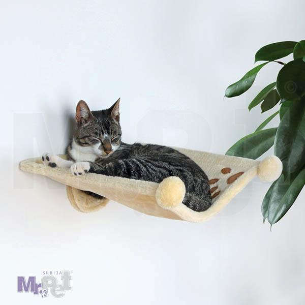 TRIXIE ZIDNA ležaljka za mačke Hammock for Walls