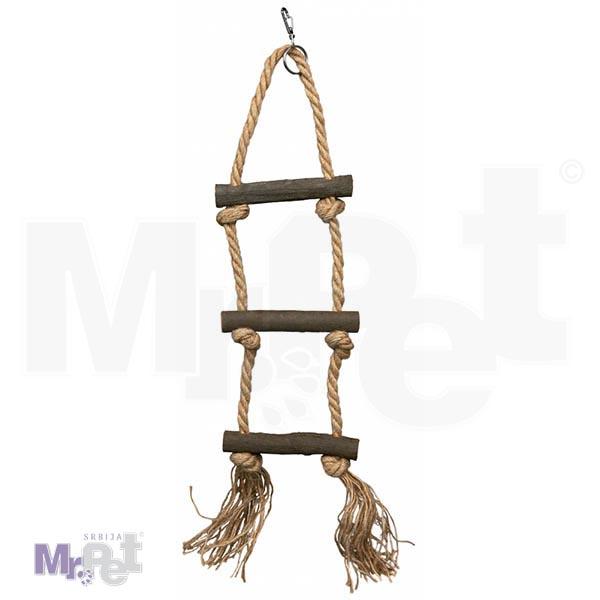 TRIXIE drvene merdevine za ptice Rope Ladder