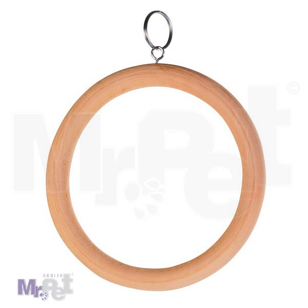 TRIXIE drveni krug za PTICE 15 cm