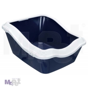 TRIXIE Cleany cat toalet 45 x 21 x 54 cm, tamno plavi