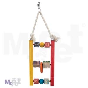 Trixie Wooden Ladder: stajalica za ptice sa elementima