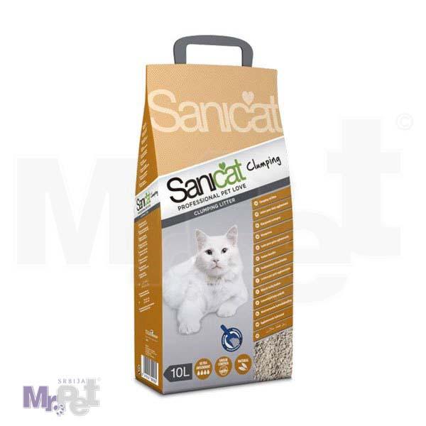 SANICAT pesak za mačji toalet Clumping Professional (grudvajući, bentonit)
