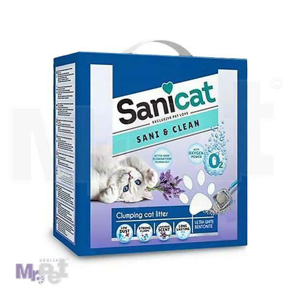 SANICAT pesak za mačji toalet SaniiClean