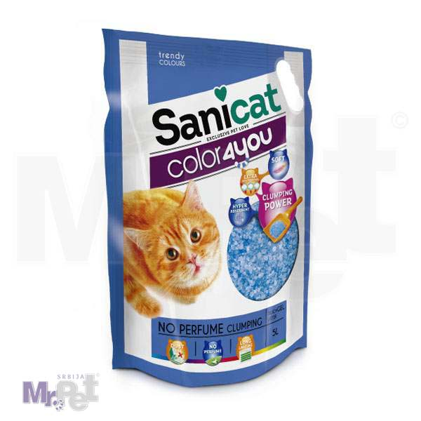 SANICAT pesak za mačji toalet Color4 You