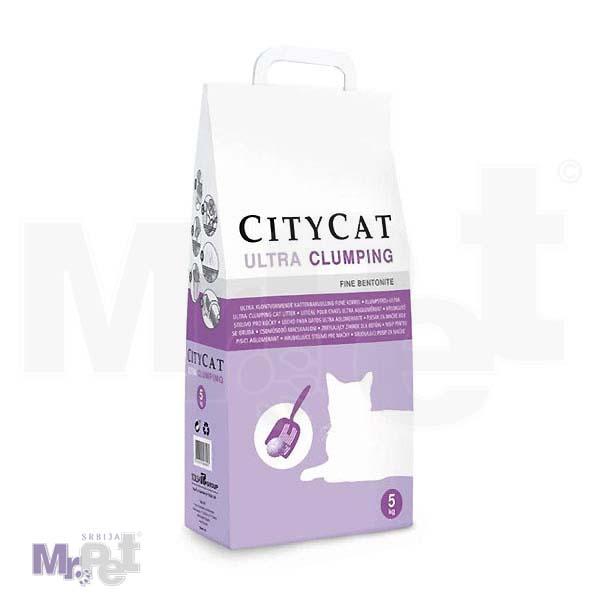 SANICAT pesak za mačji toalet Citycat 5 kg