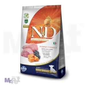 N&D Grain Free Hrana za štence Mini Puppy, Bundeva i Jagnjetina