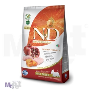 N&D Grain Free Hrana za pse Mini Adult, Bundeva i Piletina
