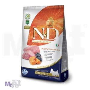 N&D Grain Free Hrana za pse Mini Adult, Bundeva i Jagnjetina
