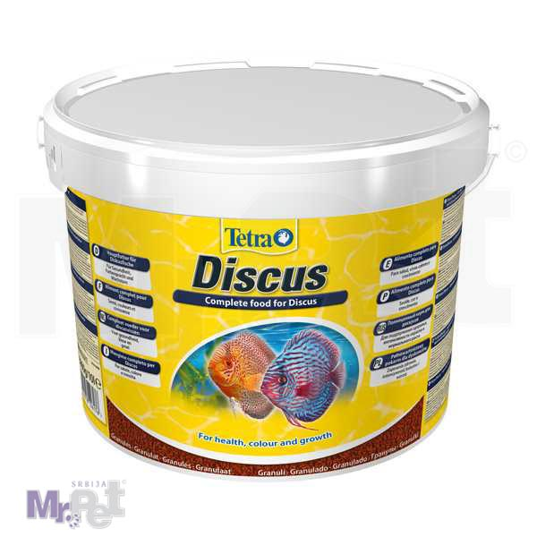 TETRA Discus 10 l hrana za diskus ribice