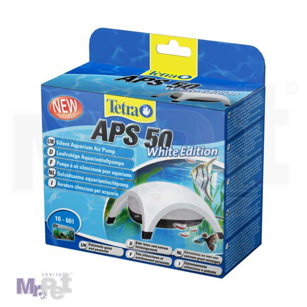 TETRA pumpa za akvarijum APS 50 White + AS 25 GRATIS