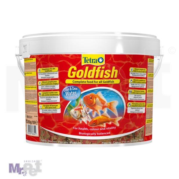 TETRA Goldfish 10 l hrana za ribice