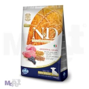N&D Low Grain Hrana za štence Mini Puppy, Jagnjetina i Borovnica
