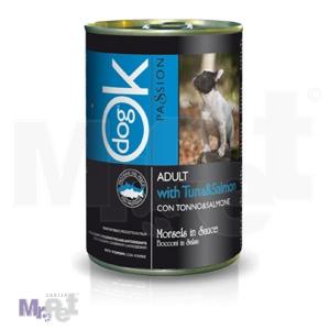 OK PASSION hrana za mačke zalogaji u umaku sa govedinom i ćuretinom