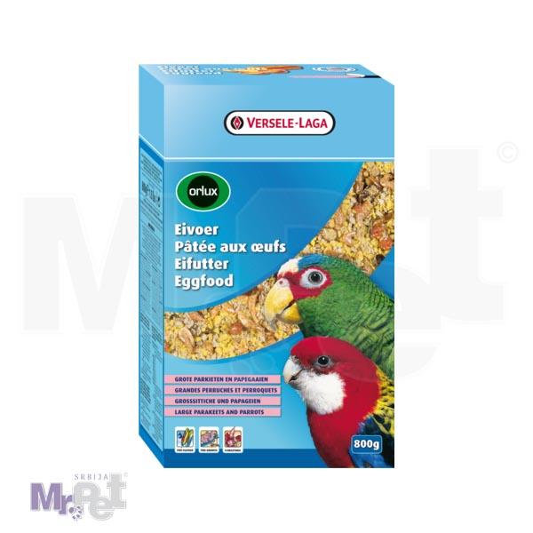ORLUX hrana za papagaje Eggfood Dry Large Parakeets i Parrots