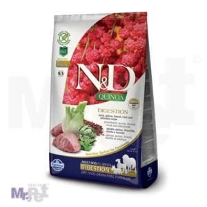 N&D Grain Free Hrana za pse sa problemima probavnog trakta Digestion, Kinoa i Jagnjetina