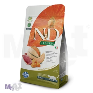 N&D Grain Free Hrana za odrasle mačke, Bundeva i Pačetina