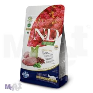 N&D Grain Free Hrana za mačke sa problemima digestivnog trakta Digestion, Kinoa i Jagnjetina