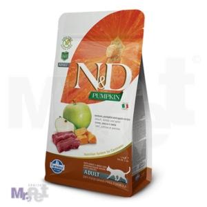 N&D Grain Free Hrana za odrasle mačke, Bundeva i Srnetina