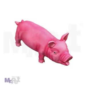 FLAMINGO igračka za pse pink latex Prase sa zvukom, 33 cm