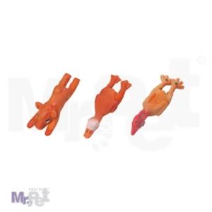 FLAMINGO 3 igračke za pse Latex Životinjica, +/- 13 x 4 x 4 cm