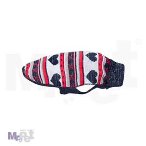 FLAMINGO džemper za pse,  Hearts, 35 cm