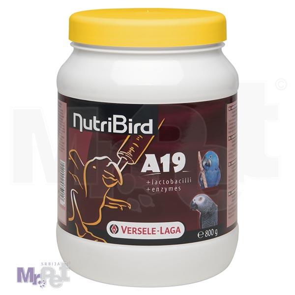 NUTRIBird hrana za ishranu ptića papagaja A19
