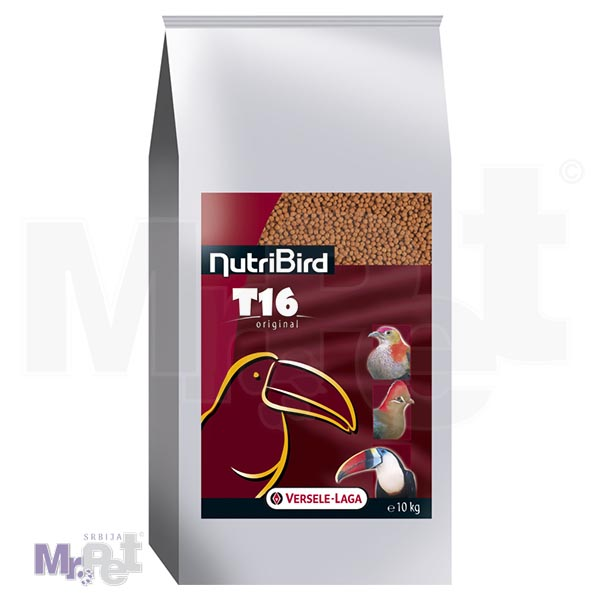 NUTRIBird hrana za velike ptice T16
