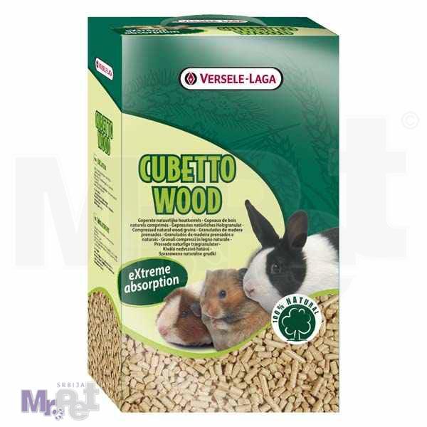 VERSELE-LAGA prostirka za glodare Cubetto Wood 2 l