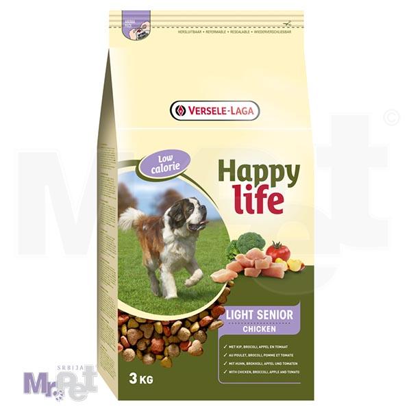 HAPPY LIFE hrana za pse Light Senior Chicken