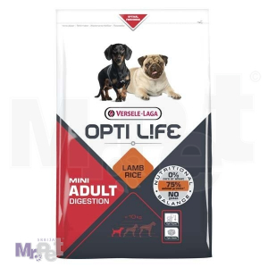OPTI LIFE hrana za pse Adult Digestion Mini