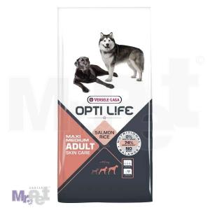 OPTI LIFE hrana za pse Adult Skin Care Medium i Maxi