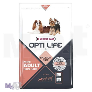 OPTI LIFE hrana za pse Adult Skin Care Mini