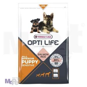 OPTI LIFE hrana za štence Puppy Sensitive All Breeds