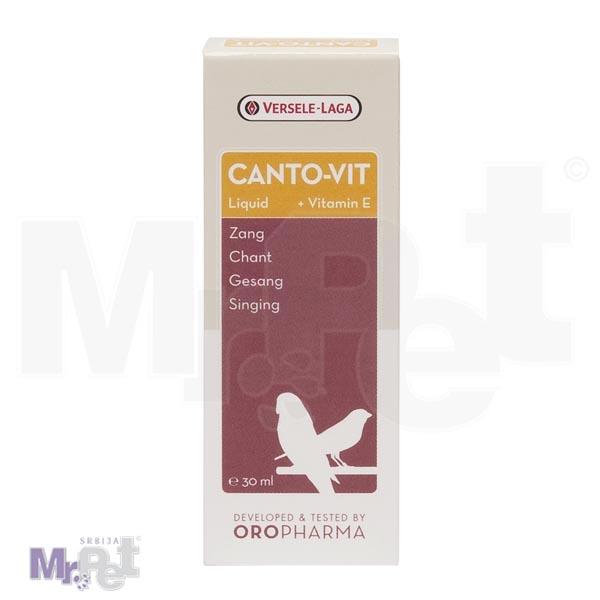 OROPHARMA dodatak ishrani za ptice CANTO-VIT liquid 30 ml