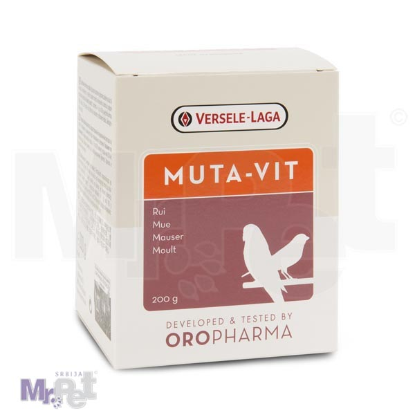 OROPHARMA multi vitamin za ptice Muta-Vit 200 g
