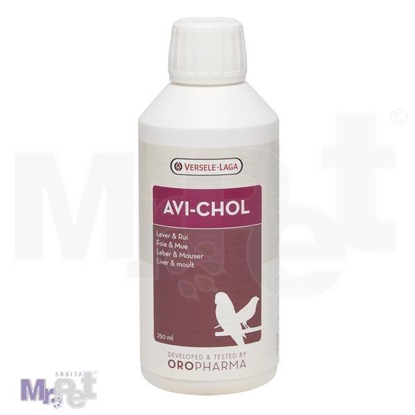 OROPHARMA dodatak ishrani za jetru ptice Avi-Chol 250 ml