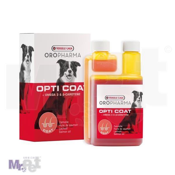 OROPHARMA dodatak izhrani za pse Opti Coat 250 ml, za sjajnu dlaku
